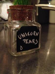 Unicorn tears